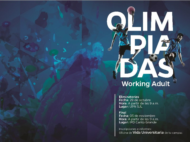Olimpiadas Working Adult, Campus SJL
